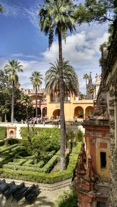 Alcázar de Sevilla, jardines