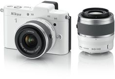Wow Nikon's new 1 cameras are way cool looking. They come in many colors too. #yourway