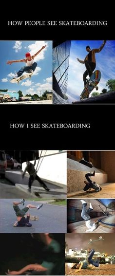 Skateboarding // funny pictures - funny photos - funny images - funny pics - funny quotes - #lol #humor #funnypictures