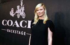 Kirsten Dunst Photos: Coach Backstage Rodeo Drive