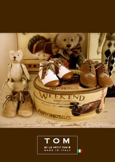 4b1f41eec8 TOM by Le Petit Tom ® LITTLE OXFORDS 14tom brown/herringbone Zapatos,  Caballerito,