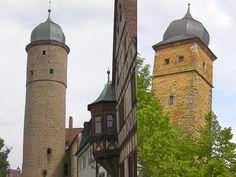 Stadttürme Gerolzhofen: eines der 100 Frankenwunder.