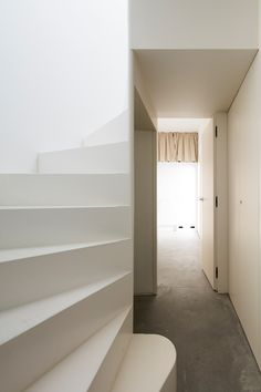 House in Alfama is a minimalist architecture project located in Lisbon, Portugal, designed by Matos Gameiro Arquitecto.