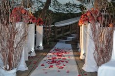 S&S Enchantment Wedding day - Ceremony site. Real wedding from http://www.mcweddingsdesign.com