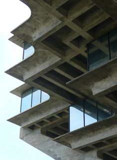 Geisel Library, 1970, University of California, San Diego Campus, La Jolla, California, USA | William Pereira