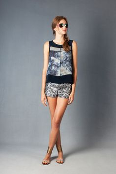 Nicole Miller Resort 2013 Fashion Show