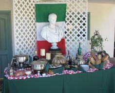 italian themed party supples | italian theme station hot italian sausage in marinara sauce fresh ...
