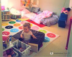 Maman Active - Une chambre adaptée à l'enfant
