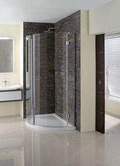 Design View Bathroom Shower Enclosure from Crosswater http://www.simpsons-enclosures.co.uk/product/simpsons-shower-enclosures/design-view-inward-opening-quadrant/