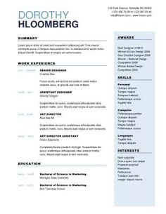 How To Build A Resume Free 25 Best Resume Images On Pinterest  Application Cover Letter Cv .