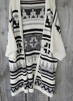 Kup mój przedmiot na #vintedpl http://www.vinted.pl/damska-odziez/kardigany/16004521-aztec-narzuta-hit-must-have