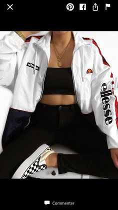 Ellesse uk on some outfit inspo in the pampino from lizzymclovin ellesse ootd ootdpost ootdfash ootdfashion outfit outfits outfitpost Tomboy Outfits, Cute Comfy Outfits, Teen Fashion Outfits, Teenager Outfits, Swag Outfits, Mode Outfits, Retro Outfits, Stylish Outfits, Girl Outfits