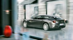 Ferrari FF - THE FF: THE FERRARI FOUR. FOUR AS IN FOUR-WHEEL DRIVE. FOUR AS IN THE FOUR COMFORTABLE SEATS THAT COCOON DRIVER AND OCCUPANTS ALIKE.
