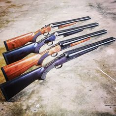 New for summer BAT has released a limited edition SxS 12 Gauge Coach Gun. Barrels with Chokes, Stock and Bear Claw Grip included. Zombie Apocalypse Survival Weapons, Zombie Weapons, Weapons Guns, Combat Shotgun, Gun Vault, Tactical Shotgun, Revolver Pistol, Come And Take It, Home On The Range