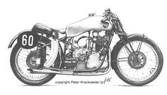 NSU 350 dohc supercharged Works-Racing Modell 1938/39