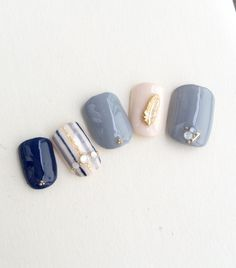 Nanki♥ Japan Nail Art, Elegant Nail Art, Toe Nail Art, Nail Nail, Acrylic Nails, Nail Polish, Latest Nail Art, Feet Nails, Japanese Nails