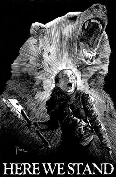 Lady Lyanna Mormont of Bear Island - Game of Thrones Game Of Thrones Artwork, Got Game Of Thrones, Game Of Thrones Funny, Winter Is Here, Winter Is Coming, 7 Arts, Bear Island, Game Of Trones, Got Memes