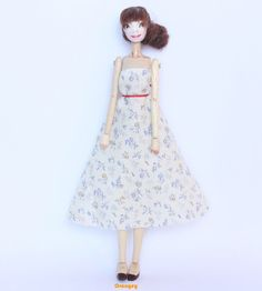 OOAK Handmade Jointed Articulated Wooden Art Doll  by OrangeTienda