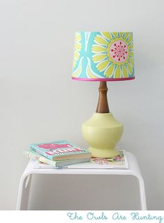 I have the perfect lamp for this just sitting in the attic!