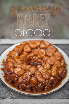 Granny's Monkey Bread is a sweet, gooey, sinful treat that will be loved by young and old alike. Be careful, its dangerously addictive.