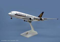 Skymarks Singapore Airbus A380 Scale 1/200 SKR050 £44 each now in stock