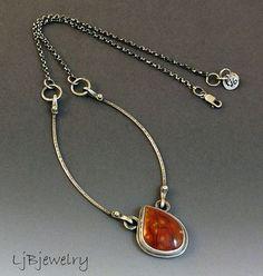 Sterling Silver Necklace Sterling Silver Pendant by LjBjewelry: