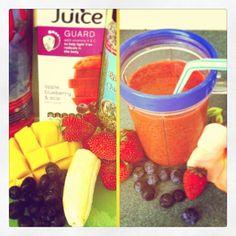 Goji Blueberry Strawberry Banana Mango Chia Smoothie Workout Dvds, Strawberry Banana, Smoothie, Blueberry, Oatmeal, Mango, Breakfast, Food, The Oatmeal
