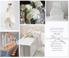 Noted. | FineStationery.com: Dressed in White: A Bridal Shower