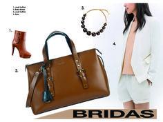 """Casual White"" ¡sencillo pero con mucho estilo! #outfit #bridas #bolsos"
