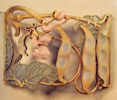 LALIQUE - jewelry - either tamarind or pea pods... not sure!