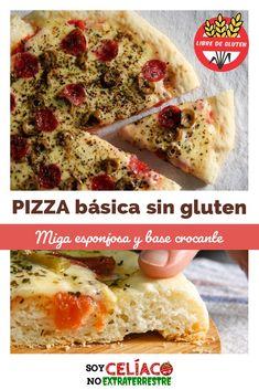 Pizza Sin Gluten, Sem Lactose, Gluten Free Recipes, The Creator, Keto, Lunch, Empanadas, Ideas Para, Ethnic Recipes