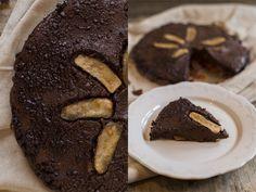 Receita de Bolo Molhado de Chocolate de Pêra  #chocolate #cake #dessert #recipe #pie