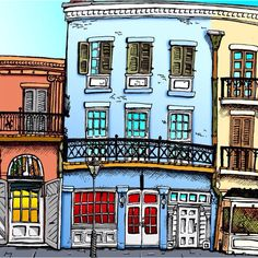 French Quarter Art Eric Styles New Orleans