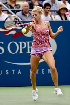 Camila Giorgi 2013 US Open – Gymnastics Camila Giorgi, Canadian Tennis Player, Tennis Players Female, Tennis Live, Sport Tennis, Beautiful Athletes, Tennis Stars, Tennis Clothes, Sporty Girls