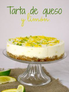 Easy Lemon Cheesecake, Cheesecake Pie, Cheesecake Recipes, Pie Recipes, Cooking Recipes, Caribbean Recipes, Mousse Cake, Cheesecakes, Food And Drink