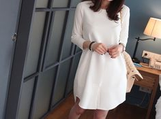 Minimal dress.