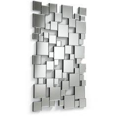 Garderobespeil  med irregulære firkanter i ulike størrelser.  $4,980.00