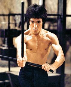 """Bruce Lee Enter The Dragon Weapons Scene With Filipino Kali Sticks, i.e., Arnis, Escrima Sticks !"""