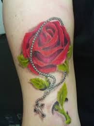 rosary tattoos - Google Search