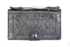 Ladies Black leather Wallet. $70.00