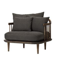 Fly SC1 Chair, nojatuoli, harmaa