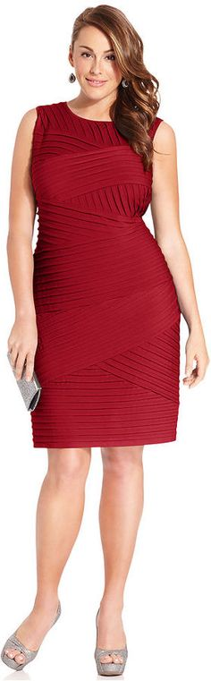 Calvin Klein Plus Size Sleeveless Bandage Sheath... maybe a different color, but it's beautiful!!