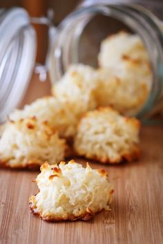 Easy Coconut Macaroons Recipe on Love from the Oven