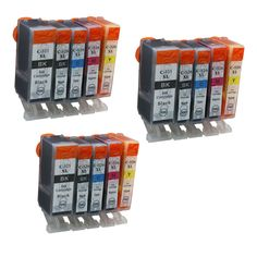 15PK PGI525 CLI526 Compatible Ink Cartridges For Canon PIXMA MG6250 MG8150 MG8250 IP4850 IP4950 IX6550 Cartridge Printer Inkjet