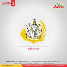 Happy Navratri (Day Jark Pharma Pvt Ltd. Being a pharmaceutical company that's committed to helping people live longer, healthier lives. Navratri Images, National Doctors Day, Happy Navratri, Tree Logos, Typographic Logo, Durga Puja, Festival Posters, Reality Quotes, Helping People