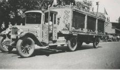 The 1931 Walter L. Main Circus makes parade in Attleboro, MA. This is a John Cutler photo.