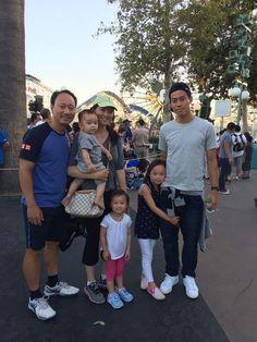 錦織圭とマイケルチャン家族