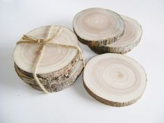 Image of Birch Branch Coasters-Set of 4