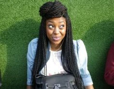 Kanekalon Senegalese Twists | Once the hair is braided in the Senegalese twists , there are a number ...