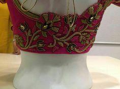 Cutwork Blouse Designs, Best Blouse Designs, Wedding Saree Blouse Designs, Pattu Saree Blouse Designs, Blouse Neck Designs, Mirror Work Blouse, Hand Work Blouse, Designer Blouse Patterns, Designer Wear